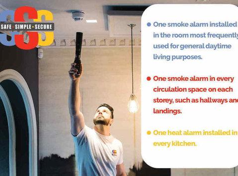 Smoke Alarm Installers in Edinburgh - Household/Repair