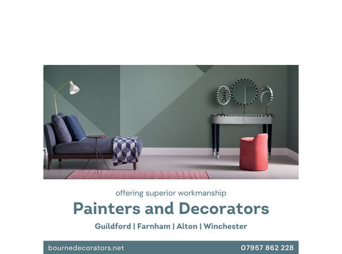 Painters And Decorators In Guildford - Building/Decorating