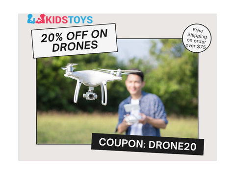 20% Discount on Drones Collections | Kidstoys - Baby/Kids stuff