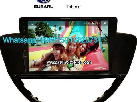 Subaru Tribeca Car audio radio android Gps navigation camera - Altro