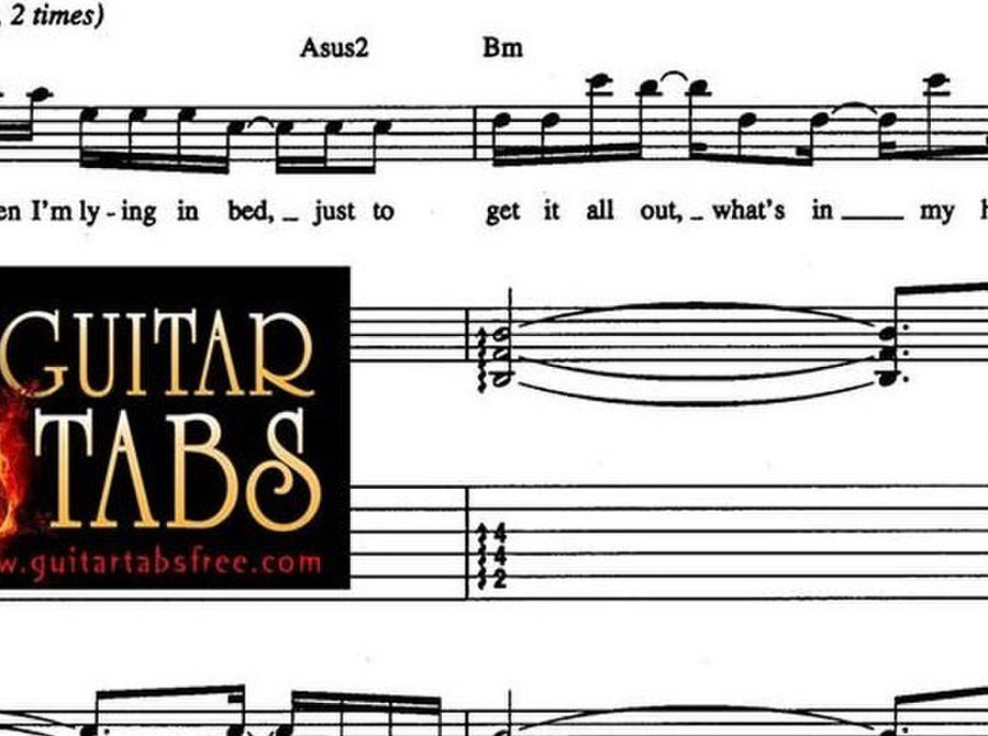 Guitar Tabs, Chords, Song Books, Music Sheets, Lyrics pdf - Music/Theatre/Dance