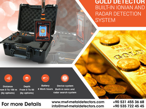 gold radar new technology for gold detector - Electronique