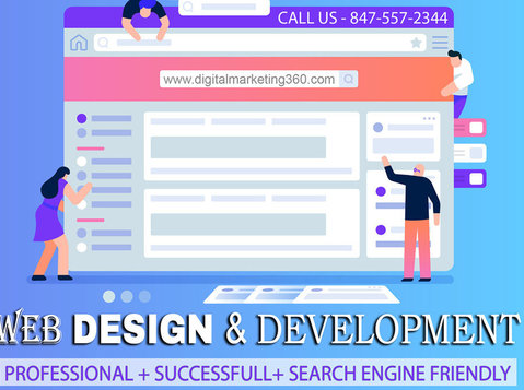 Web Development Services Chicago - Digital Marketing 360 - Services: Other