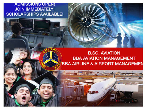 UGC RECOGNIZED AVIATION DEGREE & DIPLOMA COURSES WITH SCHOLA - Classes: Other