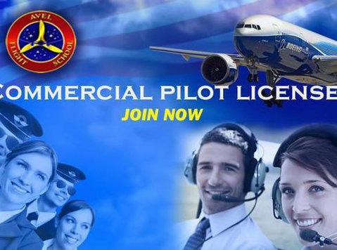 virtual live class commercial pilot license - Classes: Other