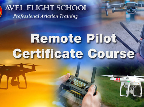 virtual live remote pilot certificate course - Classes: Other