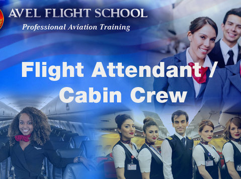 virtuall live class flight attendant / cabin crew course - Classes: Other
