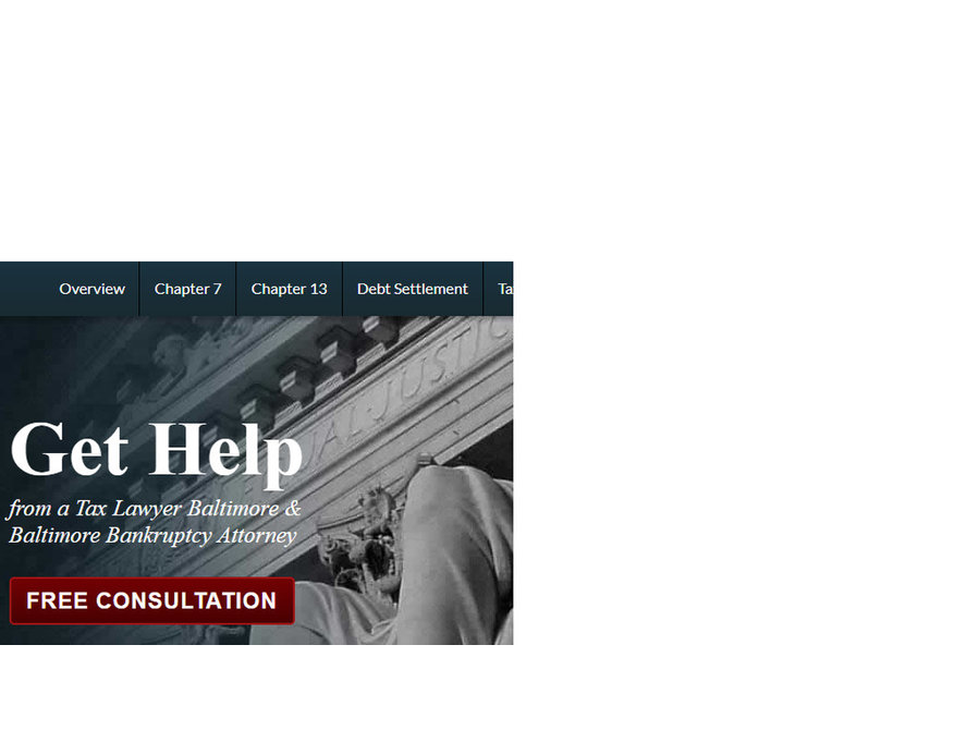 trusted bankruptcy lawyer in Baltimore - Legal/Finance
