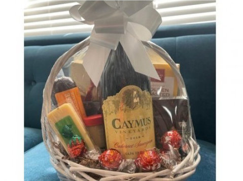 Buy Online Wine Gift Basket With Fast Delivery. - Lain-lain