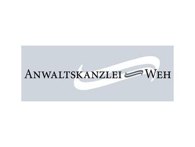 Anwaltskanzlei Weh, Frankfurt: - Rechtsanwälte und Notare