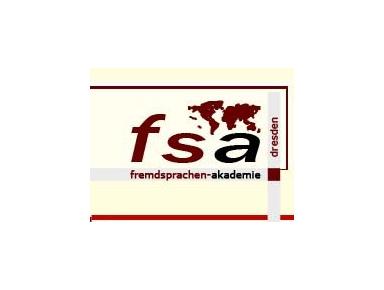 fsa fremdsprachen-akademie dresden - Sprachschulen