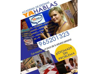 Academia de Idiomas Yahablas - Escuelas de idiomas