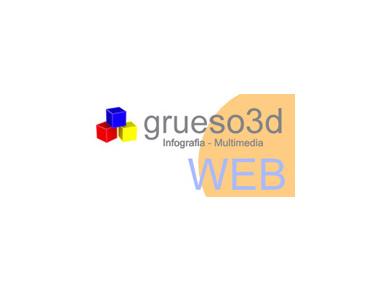 Grueso3d - Webdesign