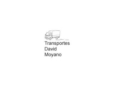 Transportations David Moyano - Removals & Transport