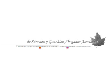 de Sánchez y González Abogados A., C.B. - Lawyers and Law Firms