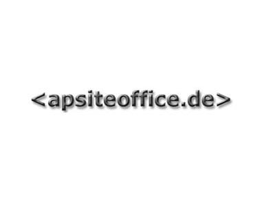 Apsiteoffice.de - Webdesign