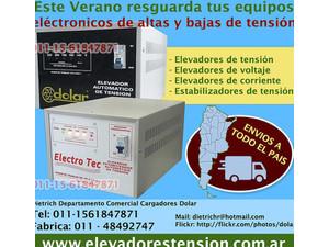 Elevadores de tensión y estabilizadores 011- 48492747 - Electricidad, gas, agua