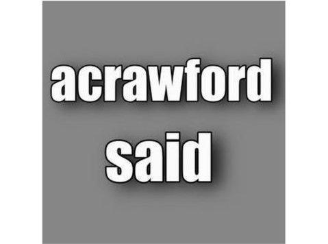 acrawfordsaid - Webdesign