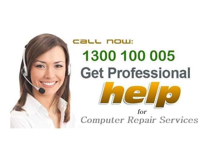 Call Now 1300 100 005- Instant support for computer repair - Computer shops, sales & repairs