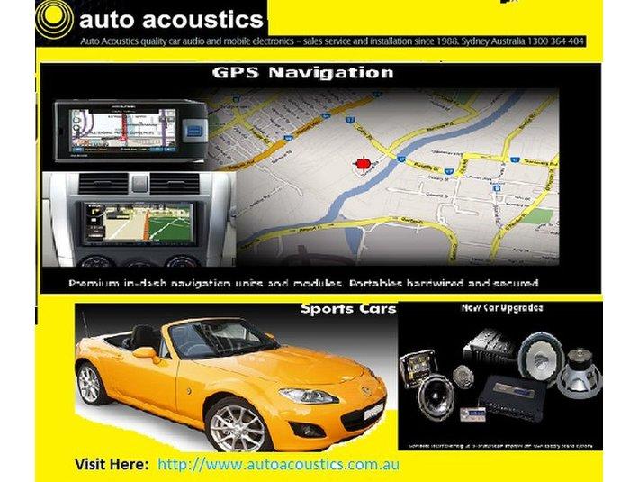 Auto Acoustics - Car Repairs & Motor Service