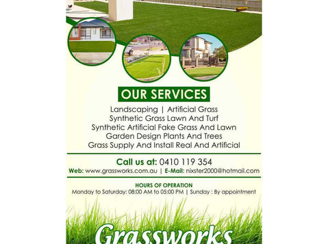 Residential landscaping and design Perth | Grassworks - Gardeners & Landscaping