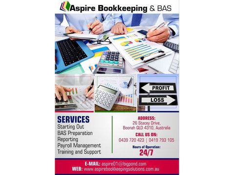 Aspire Bookkeeping & Bas,Boonah - Business Accountants