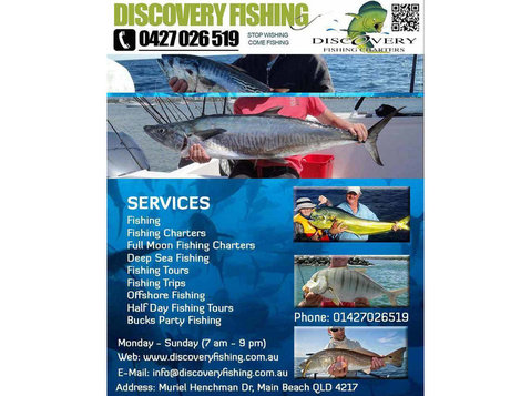 Fishing Charters in Gold Coast | Discovery Fishing Charters - Fishing & Angling