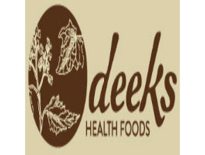 Deeks - Food & Drink