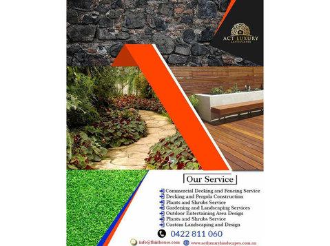Experienced Paving Contractors Queanbeyan | Act Luxury - Gardeners & Landscaping