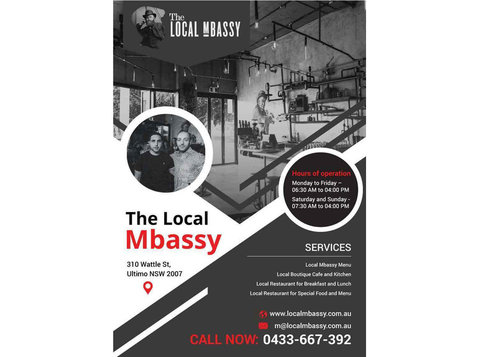 All Day Breakfast at Local Mbassy Ultimo | The Local Mbassy - Restaurants