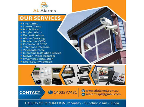 Al Alarms - Security services