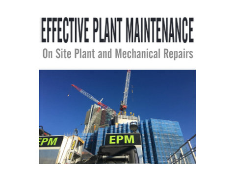 Effective Plant Maintenance - Car Repairs & Motor Service