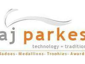 AJ Parkes - Name badges, awards, plaques,  medals, plates - Office Supplies