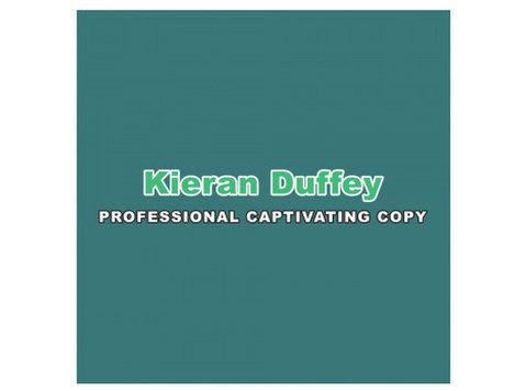 Kieran Duffey Copywriter - Marketing & PR