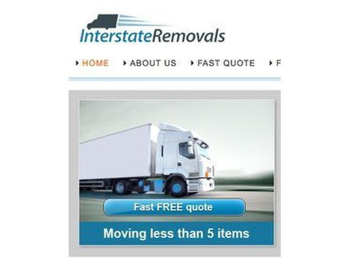Interstate Removals - Removals & Transport