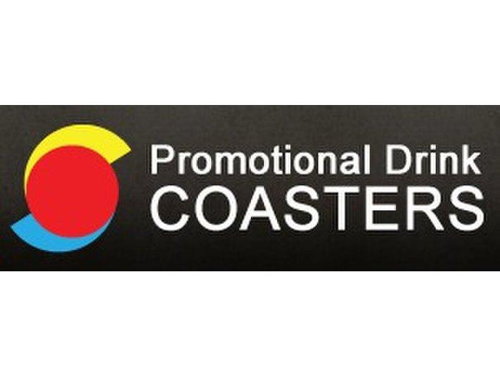 Promotional Drink Coasters - Custom Drink Coasters - Advertising Agencies