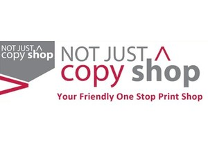 Not Just A Copy Shop - Print Services