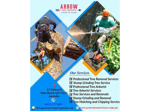 Tree Works and Stump Grinding Gold Coast | Arrow Tree - Gardeners & Landscaping