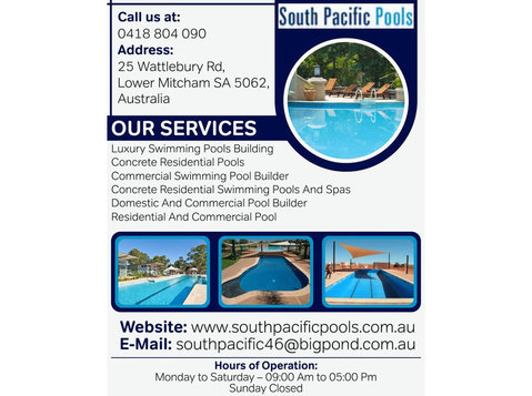 Hydrotherapy Pools Physiotherapy Adelaide | South Pacific - Swimming Pools & Baths