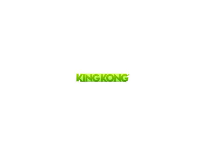 King Kong - Webdesign