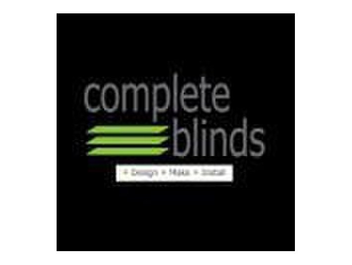 Complete Blinds - Roller Blinds & Interior Plantation - Windows, Doors & Conservatories