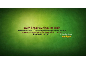 Oven Repairs Melbourne Wide - Electrical Goods & Appliances