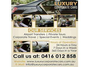 Luxury Corporate Cars | Airport transfer in Melbourne - Autonvuokraus