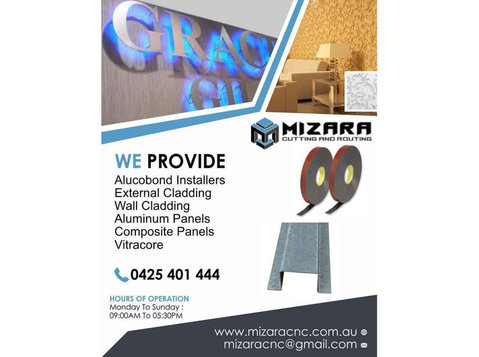 Alucobond in Melbourne | Mizara - Carpenters, Joiners & Carpentry