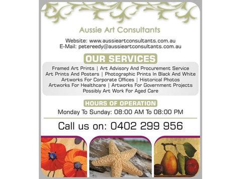 Aussie Art Consultants - Photographers