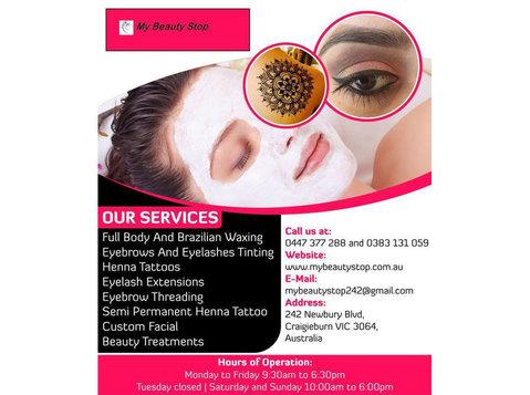 Beauty Treatments in Craigieburn | My Beauty Stop - Beauty Treatments
