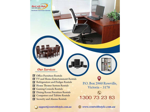 Dining Room Furniture Rentals Cairns | Rent with Style - Home & Garden Services