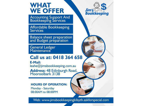 Bas Support Lilydale | Jims Bookkeeping Kilsyth - Business Accountants