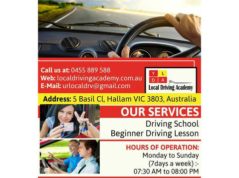 Local Driving Instructors Melbourne | Local Driving Academy - Driving schools, Instructors & Lessons