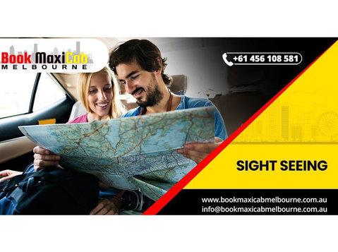 Book Maxi Cab Melbourne - Taxi Companies